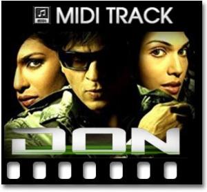 Aaj Ki Raat - MIDI