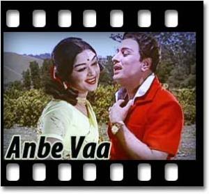 Anbe Vaa Karaoke MP3