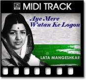 Aye Mere Watan Ke Logon  - MIDI