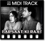 Zindagi Bhar Nahin Bhoolegi - MIDI