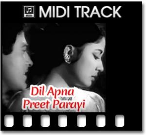 Dil Apna Aur Preet - MIDI