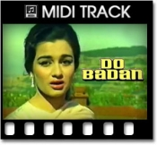 Raha Gardishon Mein Hardam - MIDI