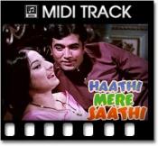 Nafrat Ki Duniya Ko Chhod - MIDI
