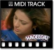 Zara Si Aahat Hoti Hai - MIDI