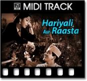 Yeh Hariyali Aur Yeh Rasta - MIDI