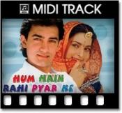 Ghoonghat Ki Aad Se Dilbar Ka - MIDI