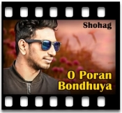 O Poran Bondhuya - MP3