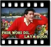 Laakhon Hain Nigaah Mein - MP3