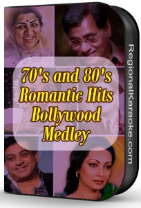 70's and 80's Romantic Hits Bollywood Medley - MP3