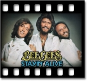 Staying Alive (Bee Gees) - MP3 + VIDEO