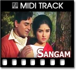 Ye Mera Prem Patra Padhkar - MIDI