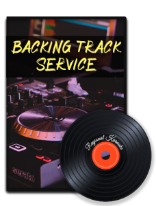 Studio Quality Backing Track Service